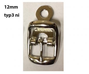 Obuvnická přezka 12mm 1ks