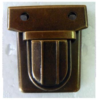 Aktovkový zámek 130 - mosaz