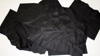 Kůže Tara - černá / na podšívky a stelky/