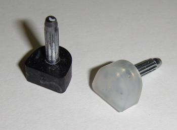 Patník s kovovým dříkem 4170