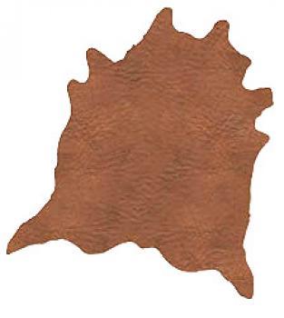 Kůže Tara - hnědá /na podšívky a stelky/