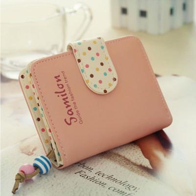 Kožená peněženka - růžová