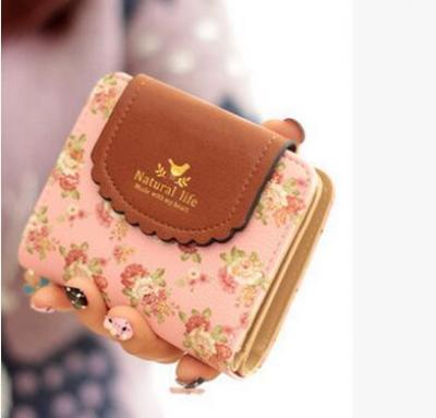 Originální malá peněženka - růžová