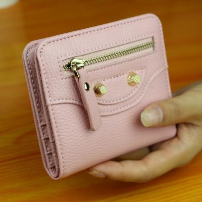 Malá elegantní peněženka - růžová