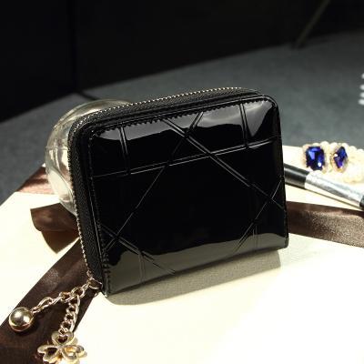 Luxusní malá lakovaná peněženka