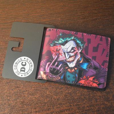 Koženková peněženka s motivem JOKERA