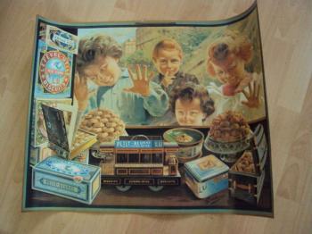 Plakát reklama sušenky