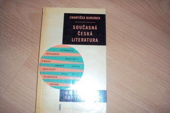 Malá moderní encyklopedie-Současná česká literatura-F.Buriánek