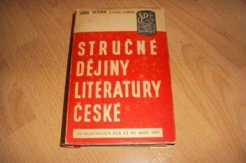 Stručné dějiny Literatury České-A.Novák