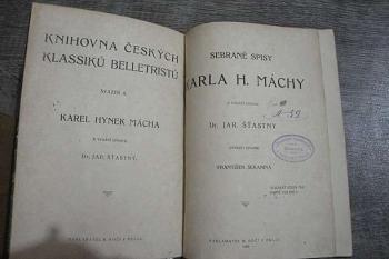 Sebrané spisy Karla H.Máchy -J.Šťastný