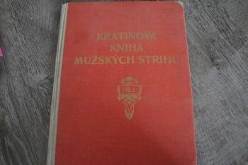 Kratinova kniha mužských střihů-díl I.J.Kratina