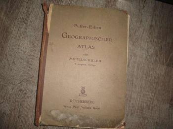 Geographischer Atlas - Puffer-Erben