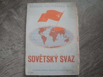 Soubor politických map-Sovětský svaz