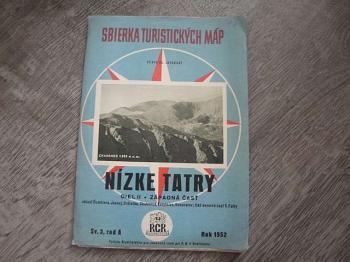 Sbierka turistických máp-Nízké Tatry diel II