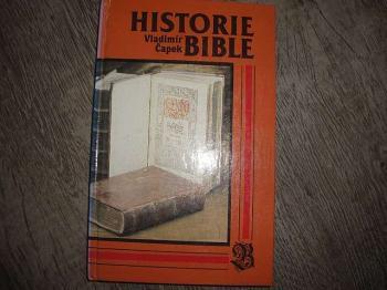 Historie Bible-V.Čapek