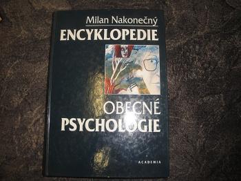Encyklopedie obecné psychologie-Milan Nakonečný