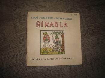 Říkadla -Leoš Janáček, J.Lada