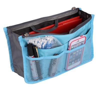 Praktický pořadač do kabelky - barva sv.modrá