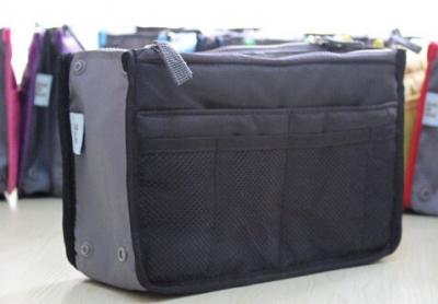 Praktický pořadač do kabelky - barva černá
