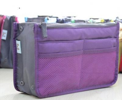 Praktický pořadač do kabelky - barva fialová