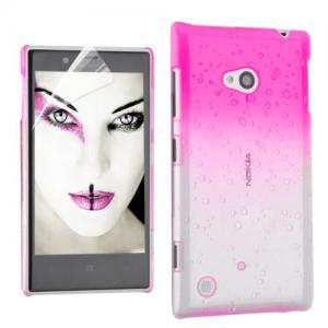 Kapkový kryt na Nokia Lumia 720 - růžový