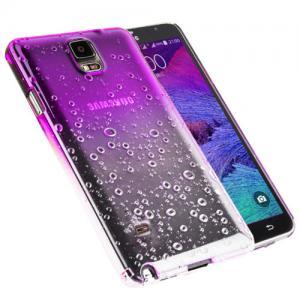 Kapkový kryt na Samsung Galaxy Note 4 - fialový