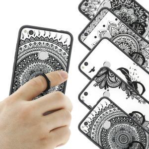 Silikonový kryt s držátkem v Mandala designu