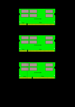 SO-DIMM DDR2 1 GB / 6400S