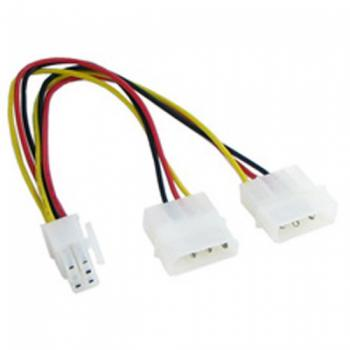 6 Pin PCI-E to 2 X 4 Pin Molex Power Adapter Cable for PCI-E Cards