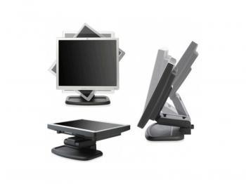 "17"" LCD HP L1740 - stříbrno-černý"