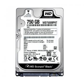 WD Black (BPKX) - 750GB  WD7500BPKX