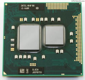 Intel® Core™ i5-460M Processor  (3M Cache, 2.53 GHz)