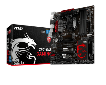 MSI Z97-G45 GAMING - Intel Z97  Z97-G45 GAMING (v záruce do 20.05.2018)