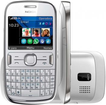 Nokia Asha 302 - bilý