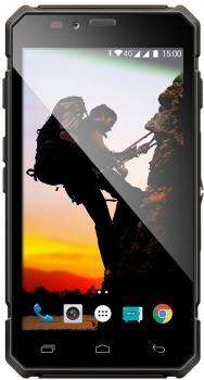 Evolveo StrongPhone Q6, LTE černý - záruka do 10.09.2018
