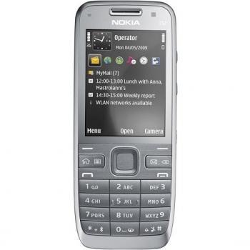 Nokia E52, Black Aluminium