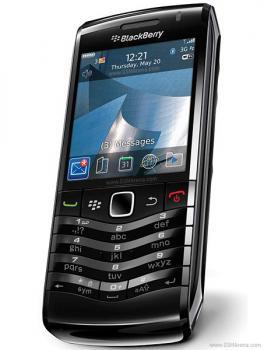 BlackBerry Pearl 9105, 3G černý