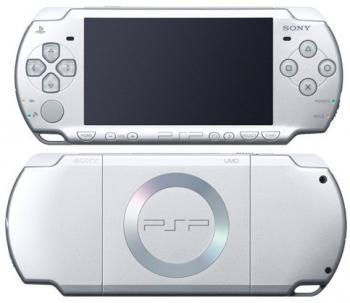Sony Playstation Portable PSP-2004 Silver