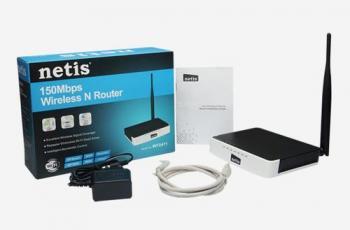 NETIS WF-2411 LITE-N AP/ROUTER, 4X LAN